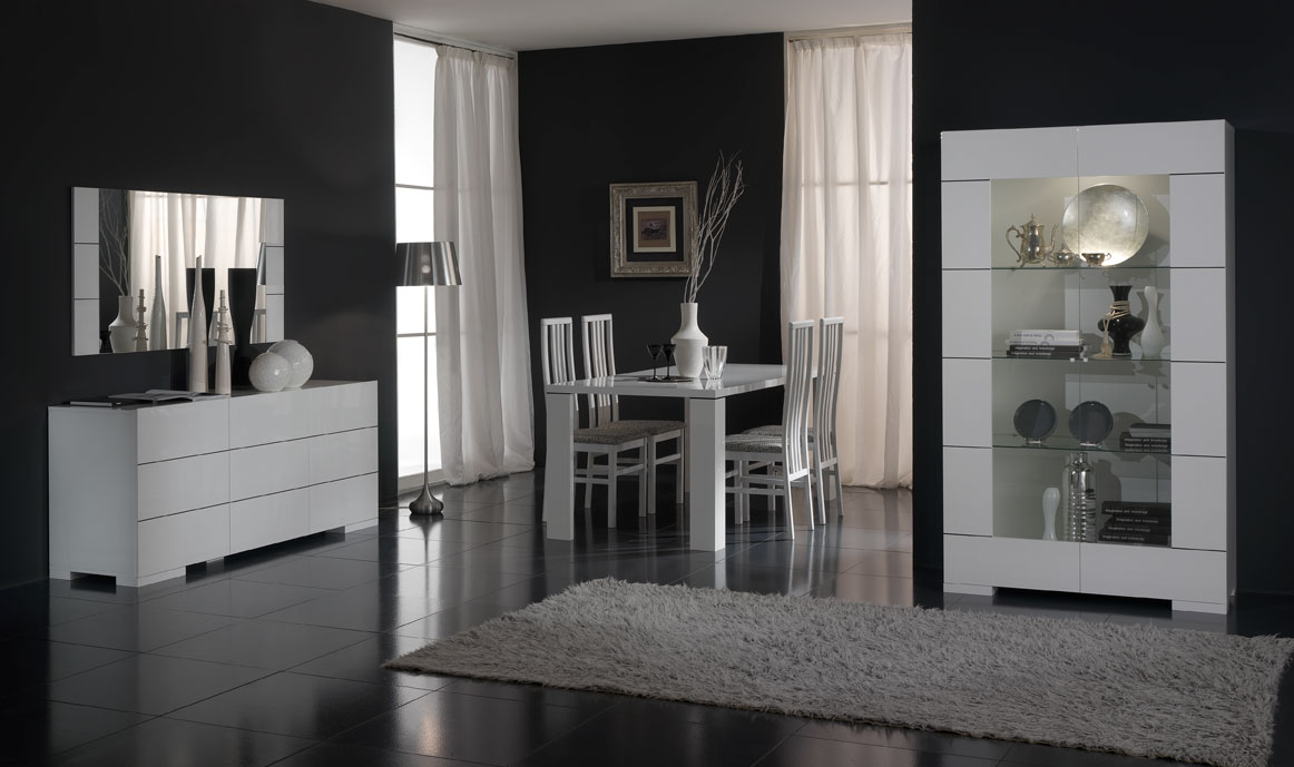 Eetkamer Wit Hoogglans : Eetkamer wit hoogglans ~ beste ideen over huis en interieur